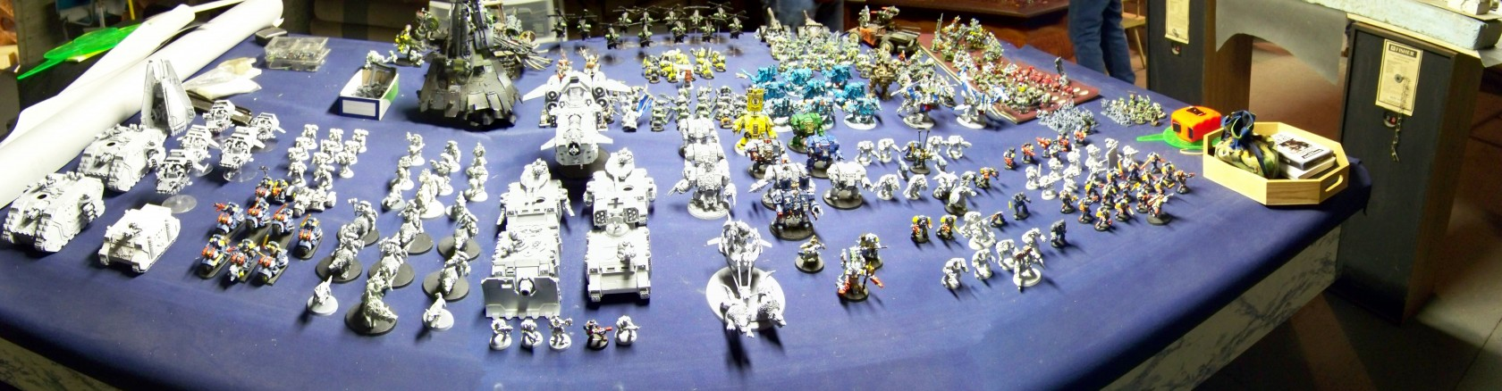Space Wolves Panoramic